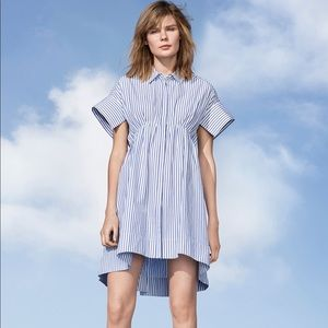 Victoria Beckham for Target Striped Shirtdress